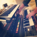 Blane Fonda and the Roland Jupiter 8 at Waterdog Studios