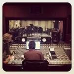 Greg Panciera Recording Christian Cullen on Piano at Tonezone Studios