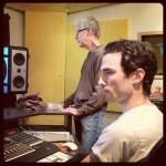 Greg Panciera and Rick Chudacoff looking serious at Waterdog Studios