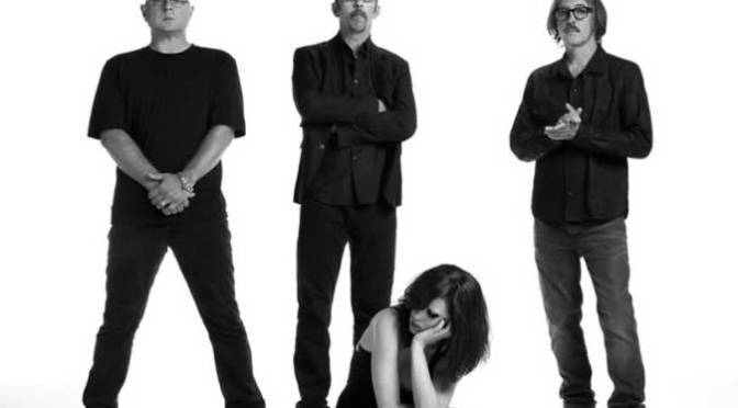Butch Vig with Garbage
