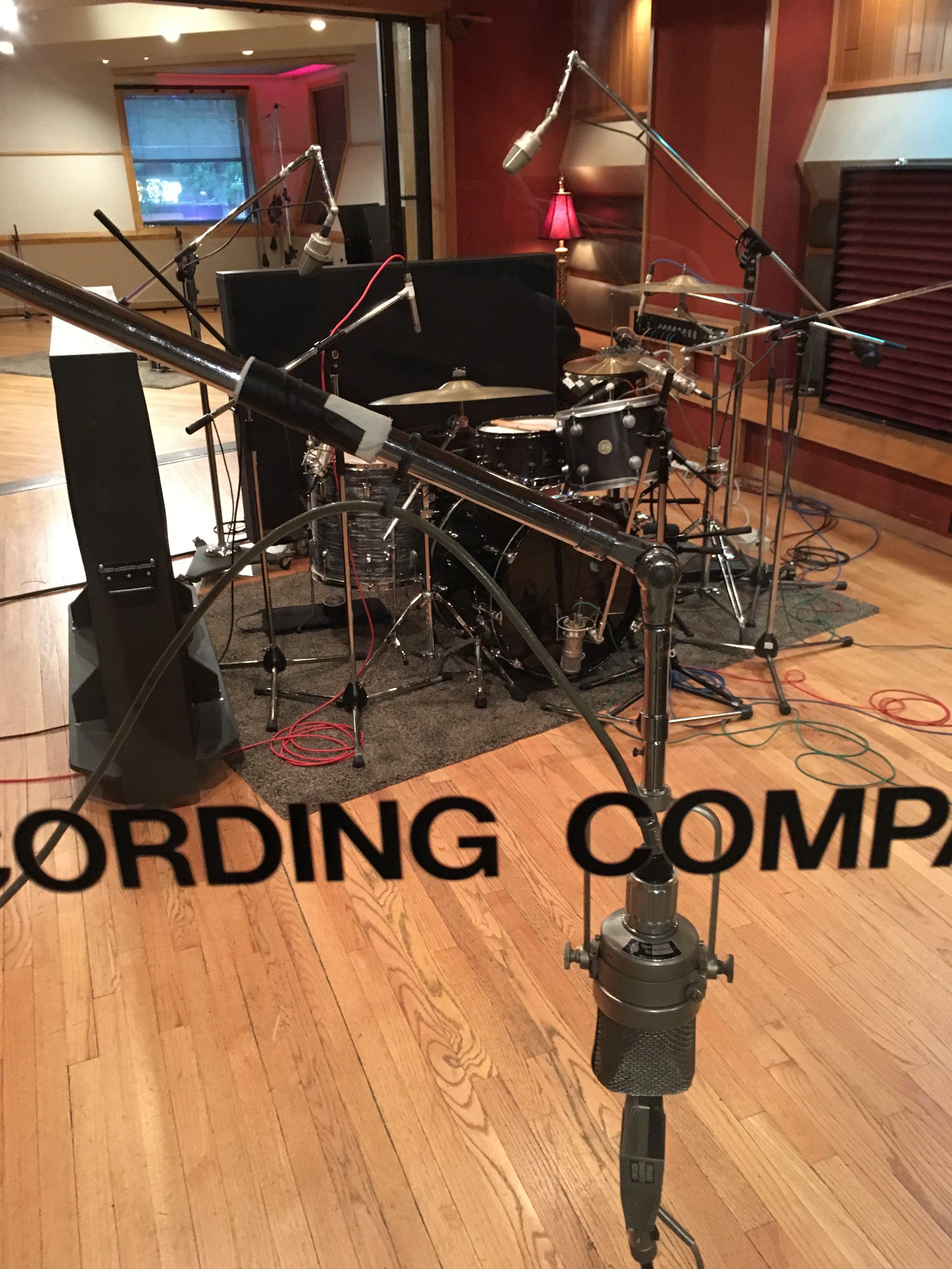 Noise FM Drum Setup at CRC