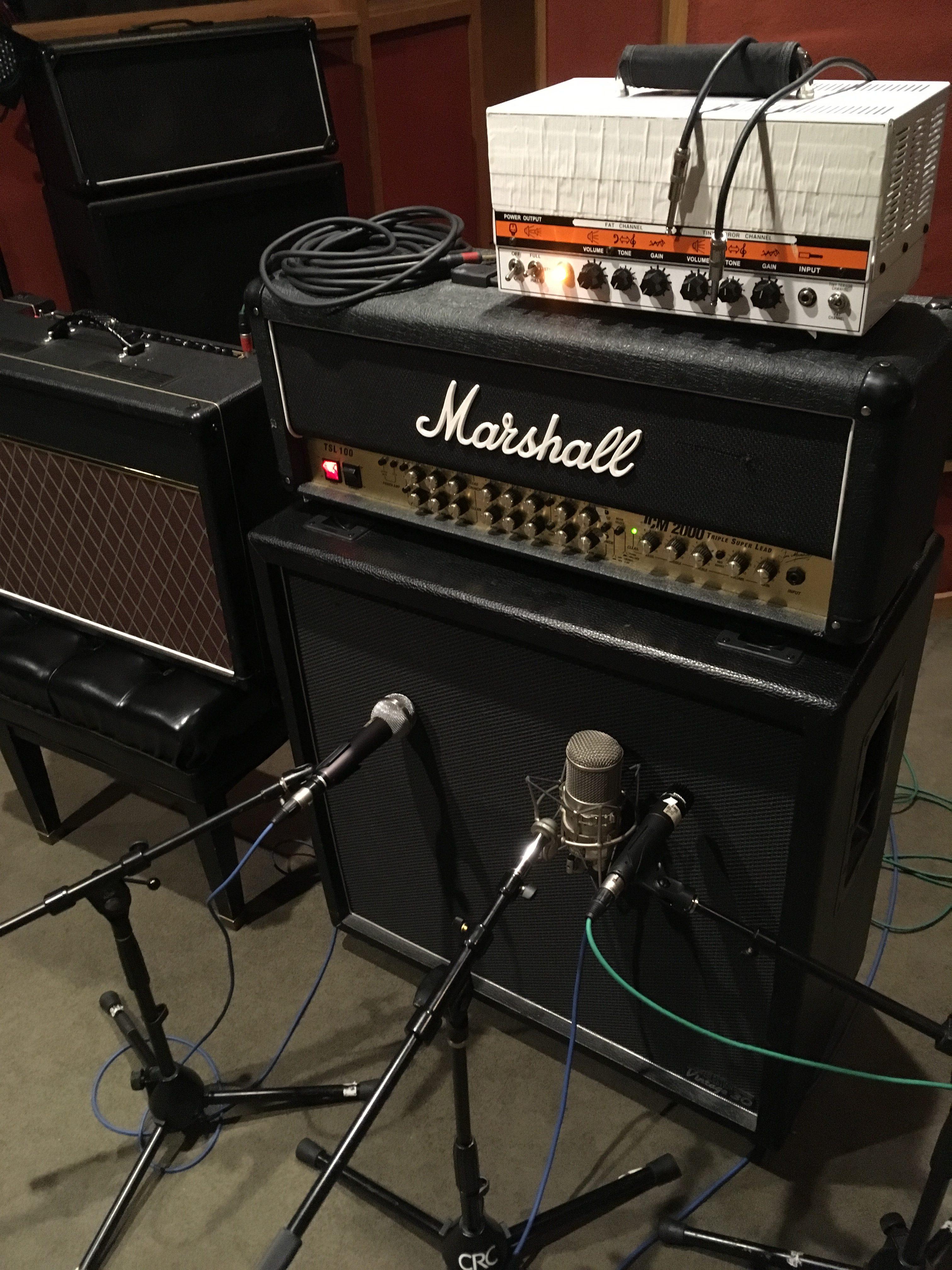 Noise FM amp setup at CRC